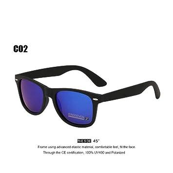 ZHOUYF Gafas de Sol 54Mm Moda Unisex Square Vintage ...