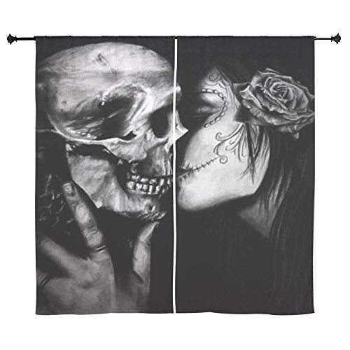 CafePress - Goth Halloween Curtains - 60