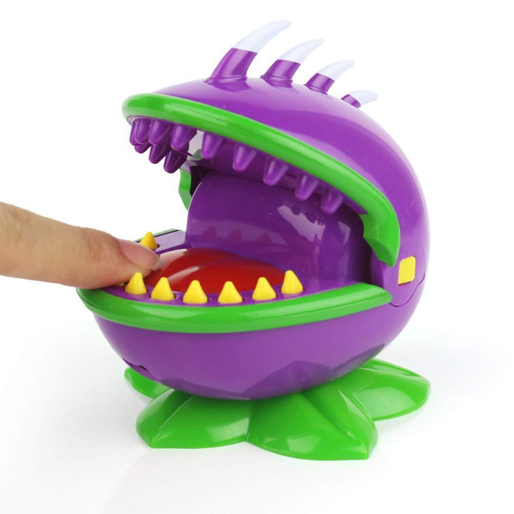 Bescita Squishy Spielzeug, Fan Beißen Menschen Hai Einen Finger Beißen Spielzeug Parodie Spielzeug Eltern-Kind Spielzeug Puzzle Spielzeug Hai Beißen Finger Spiel Lustig Party Spiel Toys (Lila)