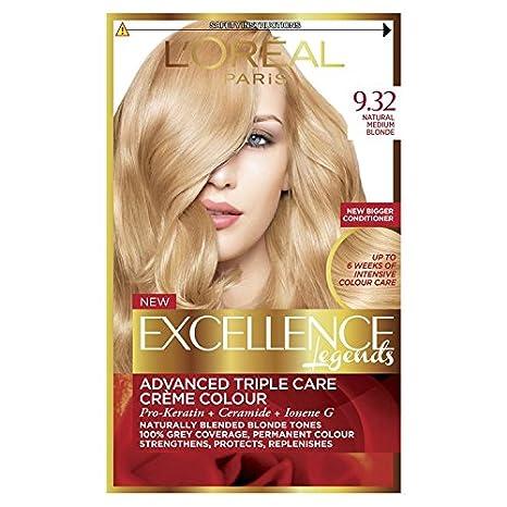 L'Oréal Excellence Creme 8.12 Natural Frosted Beige Blonde Hair Dye L' Oreal Paris 3600522737933