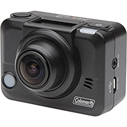 Coleman Bravo2 Wi-Fi HD Video Action Camera Camcorder & LCD Watch Remote