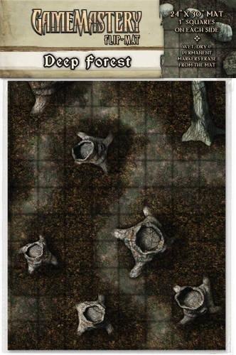 GameMastery Flip-Mat: Deep Forest