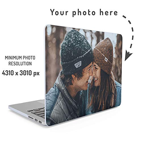 Personalised Custom Photo Create Your Own Image Laptop Case Design Make Your Own Print Macbook Pro 13 Inch Case With or Without Touch Bar Model: A1706 / A1708 / A1989 Release 2016-2018 Hard Case Cover