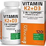 Bronson Vitamin K2 (MK7) with D3 Supplement – Vitamin D & K Complex Premium Non GMO & Gluten Free Formula, 120 Capsules Review