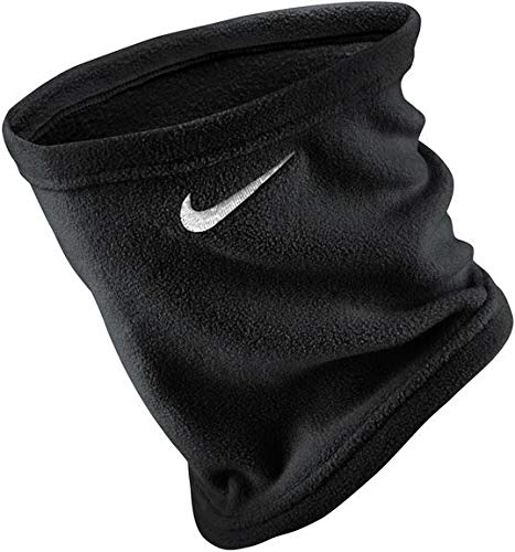 Nike Unisex Fleece Neck Warmer (Black(NWA66091)/White, One Size)