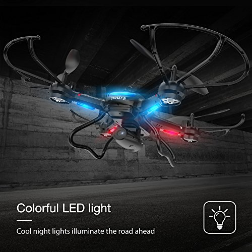 Holy Stone F181W Wifi FPV Drone with 720P Wide-Angle HD Camera Live Video RC Quadcopter with Altitude Hold, Gravity Sensor Function, RTF and Easy to Fly for Beginner, Compatible with VR Headset by Holy Stone (Image #5)