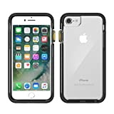 iPhone 8 Case | Pelican Ambassador Case - fits iPhone 6s/7/8 (Clear/Black)