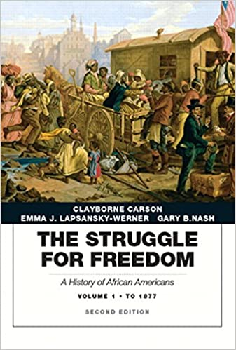 Struggle for freedom: a history of african americans, the, volume.