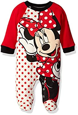 Disney Baby Baby Girls' Minnie Interlock Coverall by CAN Character Children's Apparel that we recomend individually.