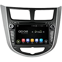 Android 5.1.1 Lollipop Car DVD Player GPS Radio Stereo Navigation System for HYUNDAI Verna Accent Solaris 2011-2012