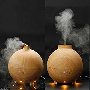 Amazon.com: Original AromaCare 600ML Pod Shaped Wood Grain