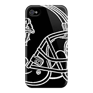 AnnaDubois Iphone 6plus Durable Hard Cell-phone Case Unique Design Trendy Miami Dolphins Series [nxl7376zytX]
