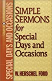 img - for Simple Sermons for Special Days and Occasions book / textbook / text book