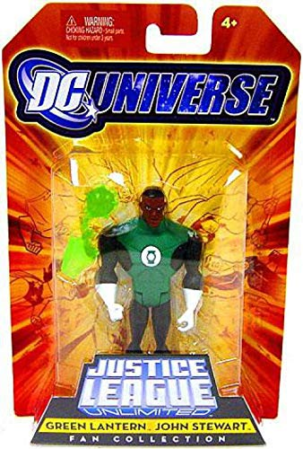 - DC Universe Justice League Unlimited Fan Collection Action Figure Green Lantern John Stewart