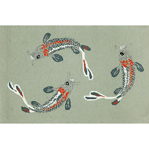 Liora Manne FT134A93404 Whimsy Fish Harmony Rug, 30