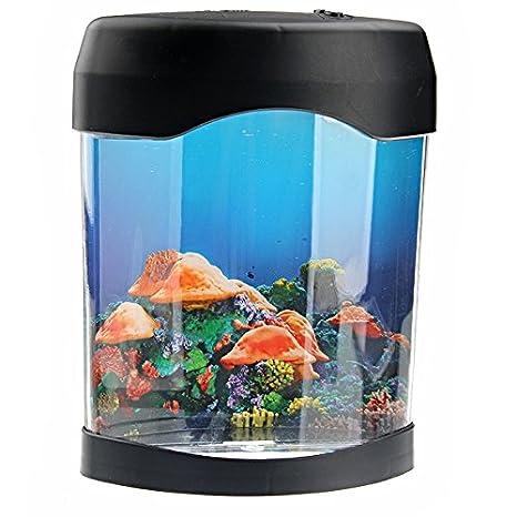 LED electrónica natación medusas humor nuit-Lámpara, diseño de pecera Tank: Amazon.es: Electrónica