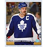 Rob Ramage Toronto Maple Leafs Autographed Captain 8x10 Photo