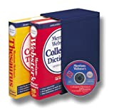 Merriam-Webster's Collegiate Reference Set, Merriam-Webster, Inc. Staff, 0877797153