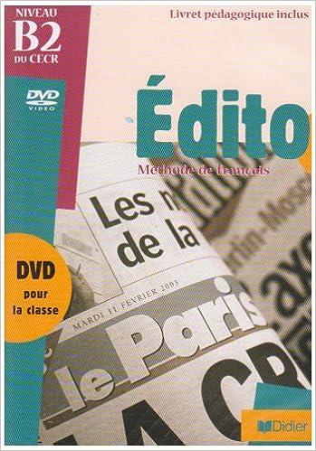 Livre gratuits en ligne Edito: DVD epub pdf