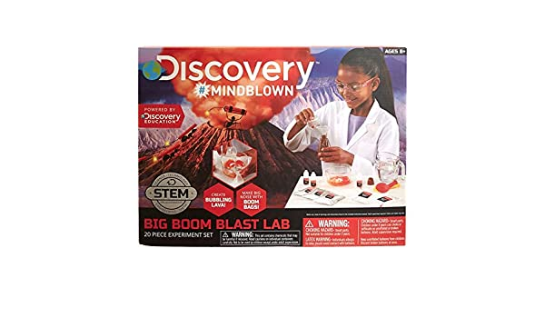 Discovery Mindblown Stem Big Boom Blast Juego de experimentos de ...