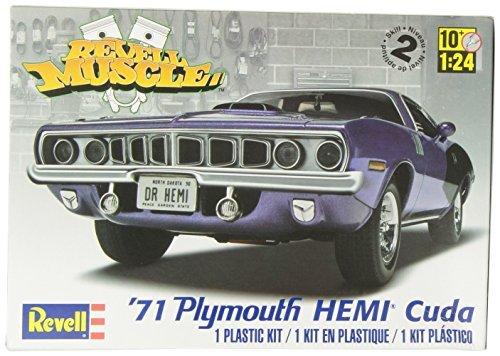 426 Hemi Cuda (Revell Monogram 1:24 1971 Hemi Cuda 426 Muscle Car (Multi-Colour) by Revell-Monogram)