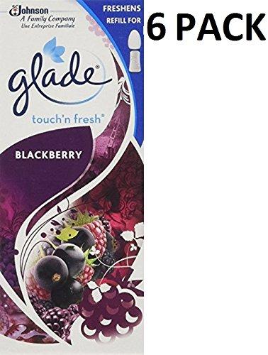 6 x GLADE TOUCH N FRESH REFILL'S 10ML - BLACKBERRY S. C. Johnson & Son