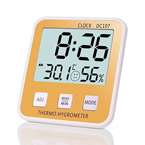 SenboweTM Multifuction hygrometer thermometer Retractable product image