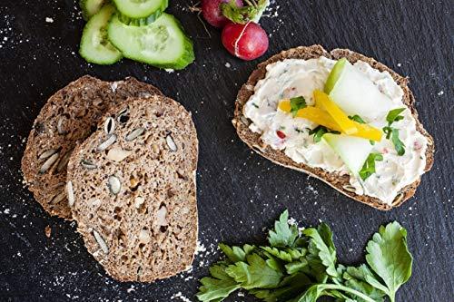 KETOFAKTUR het RUSTIKALE no.38   Erg lekker   Tot 98% Koolhydraten gereduceerd   KETOGENEEN BROOOD (low carb high fat…