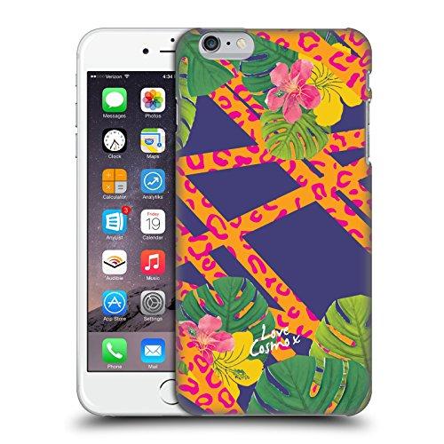 Official Cosmopolitan Leopard Tropical Hard Back Case for Apple iPhone 6 Plus / 6s Plus