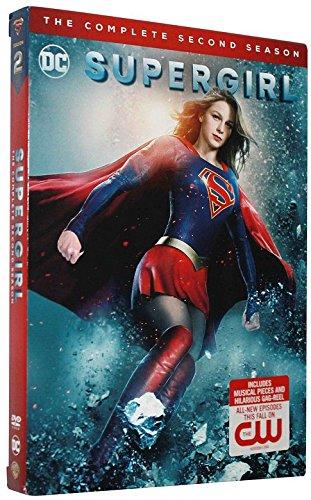 SUPERGIRL SEASON 2 DVD