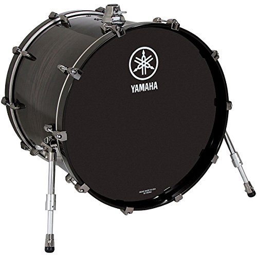 Yamaha Live Custom Oak Bass Drum 20 x 16 in. Black Shadow (Oak Custom Series)