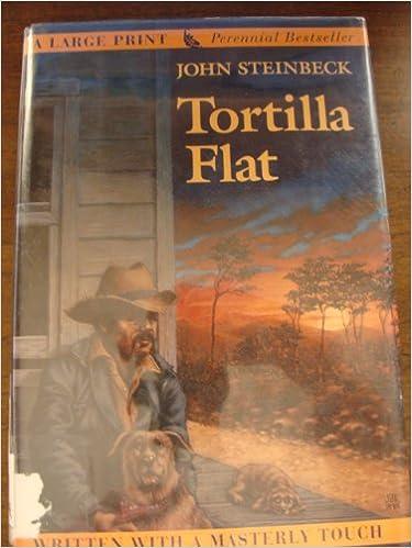 Tortilla Flat (G.K. Hall Large Print)