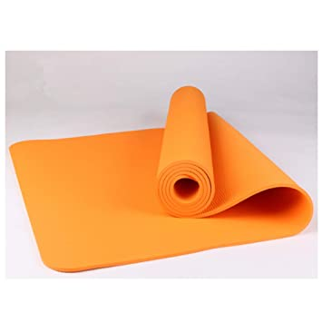 Yoga Mat High Density, 6mm Thinner Non Slip Exercise ...
