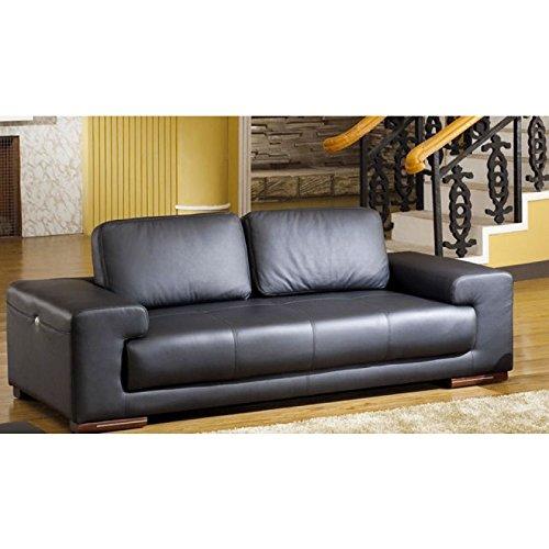 Designer Couches Ledersofa Leder-Sofa-3 Sitzer Garnitur Couch neu 5042-3S sofort