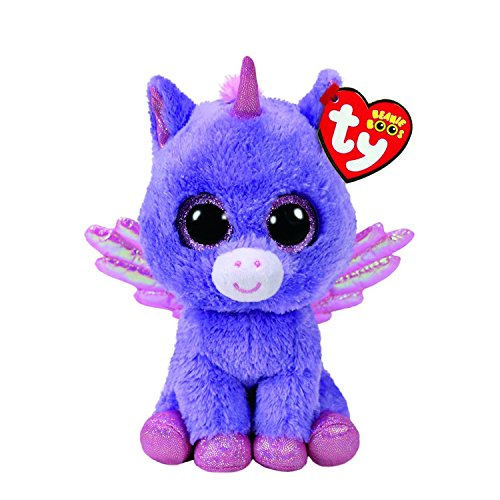 Claire's Ty Beanies Girl's Ty Beanie Boo Small Athena the Pegasus Plush Toy