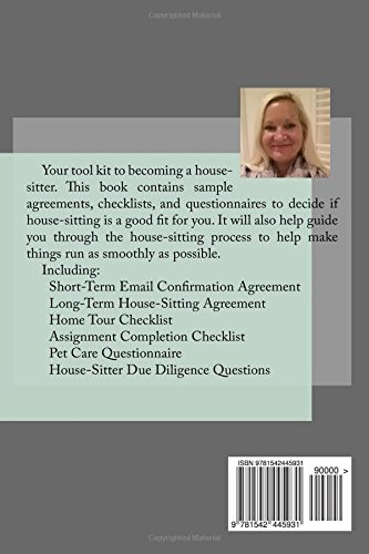House Sitters Tool Kit Complete With Agreements Checklists And