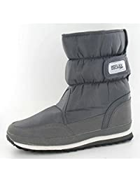 Reflex Mens Flat Padded Winter Snow Boots