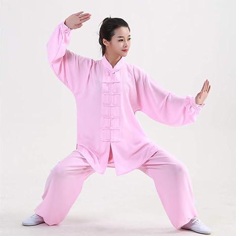 tai chi Uniforme Kung Fu Ropa Traje Artes Marciales Rendimiento ...