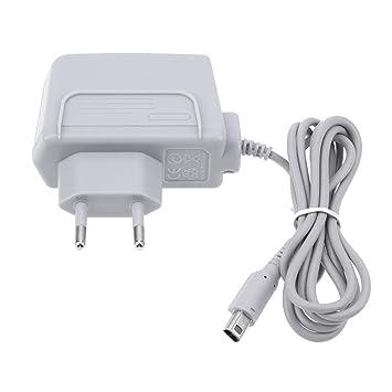 Amazingdeal365 Cable de Adaptador de Corriente para Cargador Nuevo de Viaje de casa de pared para Nintendo 2DS XL