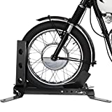 1000 Pound Heavy Duty Adjustable Motorcycle Trailer Wheel Chock Bike Stand Mount