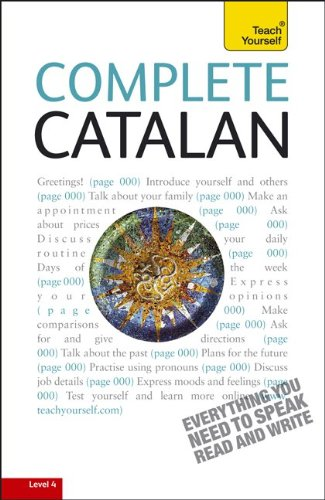Complete Catalan: A Teach Yourself Guide (TY: Language Guides) (Catalan Numbers compare prices)