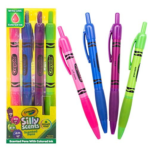 Scentco Crayola Silly Scents Smens 4-Pack of Scented Pens]()