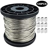 1/16 Wire Rope, 304 Stainless Steel Wire