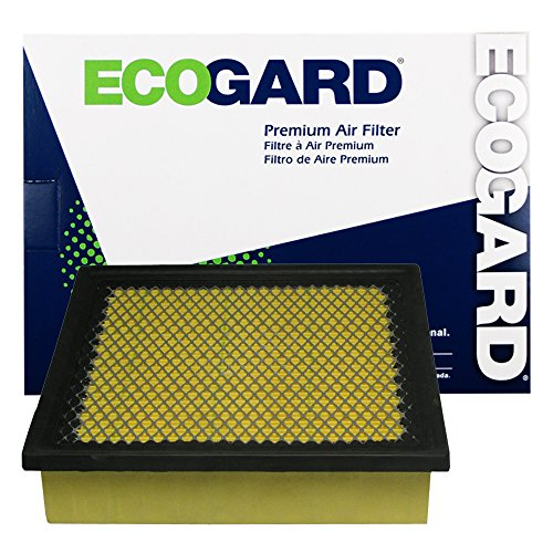 ECOGARD XA6116 Premium Engine Air Filter Fits Jeep Grand Cherokee / Toyota Sienna / Lexus RX350 / Toyota Highlander / Dodge Durango / Lexus ES350 / Toyota Avalon, Camry / Lexus NX200t, (Jeep Cherokee Engine Parts)