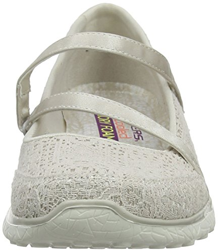 Natural Mary Janes Beige Cleanse Skechers Microburst Women Pure x1nS7f