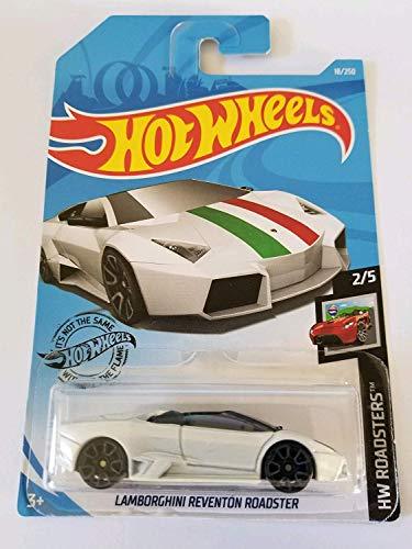 Hot Wheels 2019 HW Roadsters Lamborghini Reventon Roadster 18/250, White