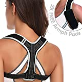 Posture Corrector Clavicle Support Back Brace Medical Device Gray M by Abahub