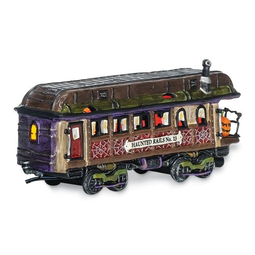 Department 56 Snow Village Halloween Haunted Rails Dining Car Accessory Figurine by Department 56