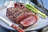 Tramontina Micro Serrated Scalloped Sirloin Steak Knives, 4-Piece Set