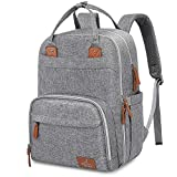 Best Baby Diaper Backpacks - Diaper Bag Backpack, BabbleRoo Neutral Travel Back Pack Review